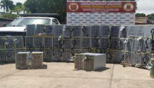 Equipamentos de mineração (Foto: Governo da Venezuela/Divulgação)