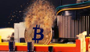 bitcoin, poluição, fumaça
