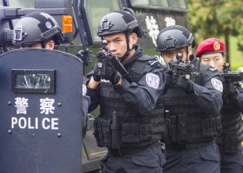 China, repressão, polícia