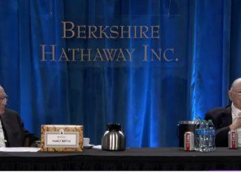 Investidores Warren Buffett e Charlie Munger. Foto: Reprodução/YouTube