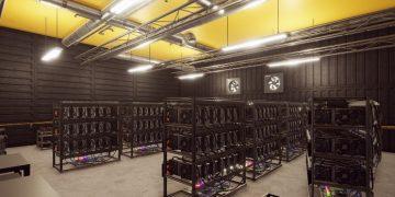 Reprodução do jogo de simulação de mineração (Foto: Divulgação)