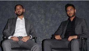 Criadores da Africrypt Ameer Cajee (esquerda) e Raees Cajee (direita). (Foto: Divulgação)