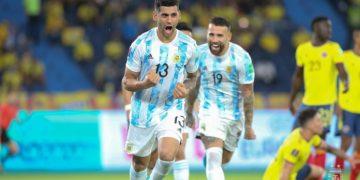 Jogadores da Argentina (Foto: Reprodução/Facebook)