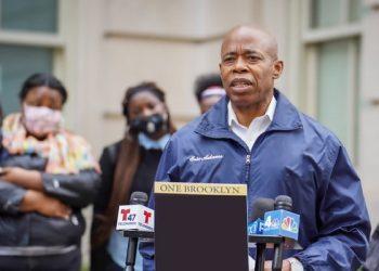 Candidato democrata à prefeitura de Nova York Eric Adams (Foto: Divulgação)
