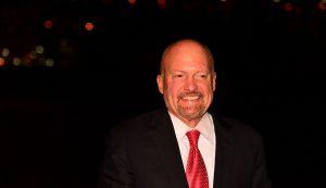 Apresentador da CNBC e investidor Jim Cramer (Foto: Shutterstock)