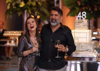 Lucinara e Claudio Oliveira (Foto: Divulgação)