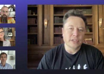 Elon Musk, CEO da Tesla e da SpaceX. (Foto: Reprodução/YouTube)