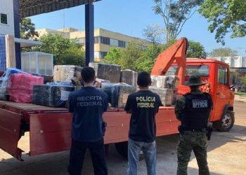 Resultado da operação Escudo (Foto: Divulgação/Receita Federal)