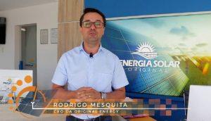 Alex Rodrigo Mesquita, CEO da Original Energy. (Foto: Reprodução/YouTube)