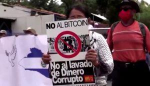 Protesto na capital São Salvador. (Foto: Reprodução)