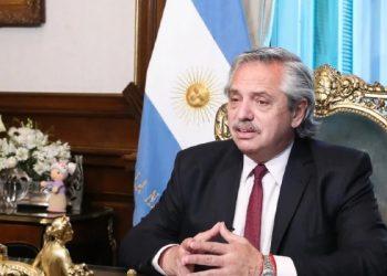Presidente da Argentina, Alberto Fernández. Foto: Divulgação/Casa Rosada