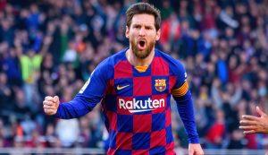 Jogador Lionel Messi. Foto: Shutterstock